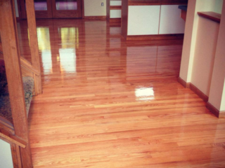 Red Oak hardwood Floors In Bloomington