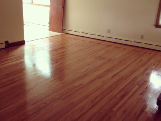 Rental Property That We Sanded and Refinished