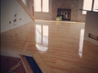 Maple Hardwood Floors In Edina