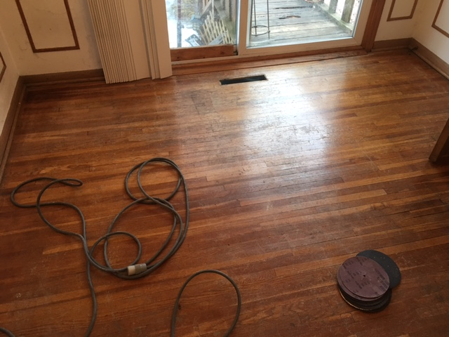 Water Popping White Oak Floors Arne S Floor Sanding