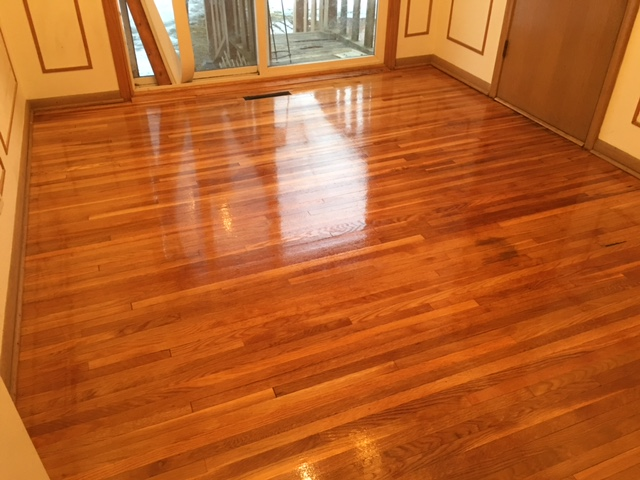 Water Popping White Oak Floors Arne Floor Sanding