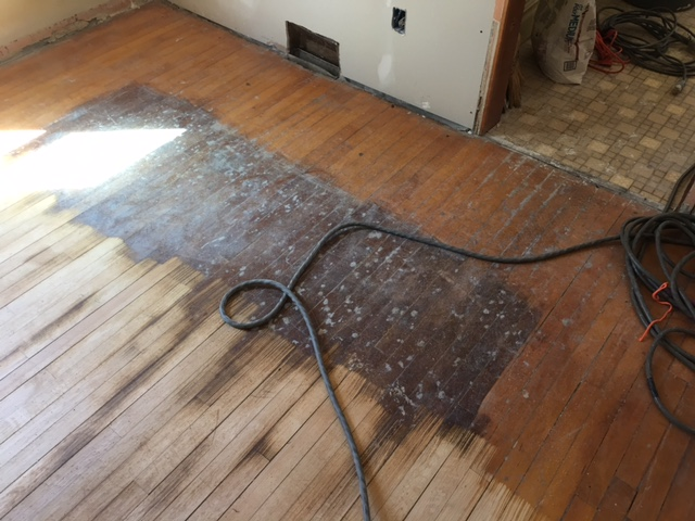 Old Maple Floor In Northeast Minneapolis Arnes Floor Sanding