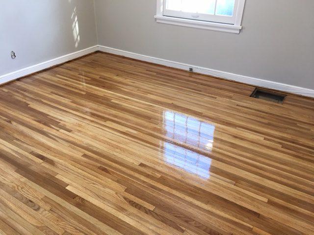 Refinished White Oak Floors In